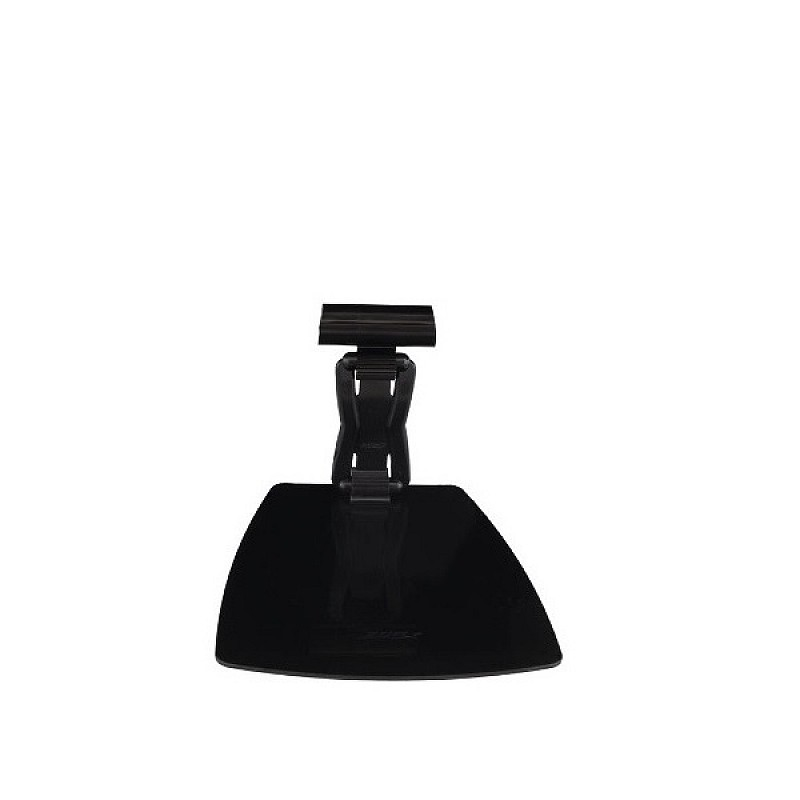Free standing price tag holder with card clip black